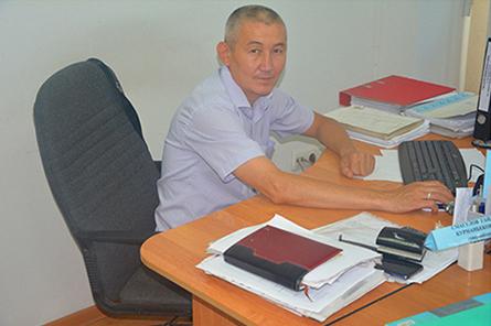 Начальник охраны Алматинского участка Смагулов Гайдар Курманбекович