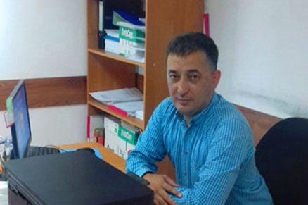 Начальник охраны Абдрахманов Азамат Базарович