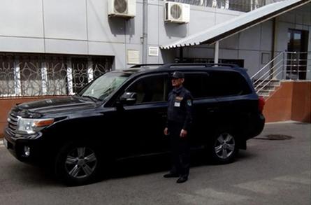 Охрана служебного автотранспорта