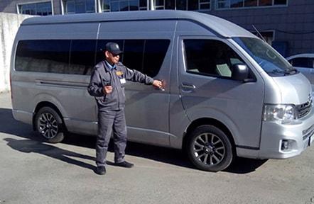 Служебный автотранспорт головного офиса ТОО