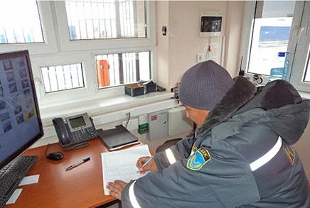 Объект ЖДС помещение охраны