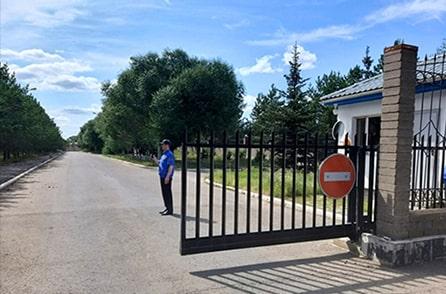 КПП на въезде на объект №3