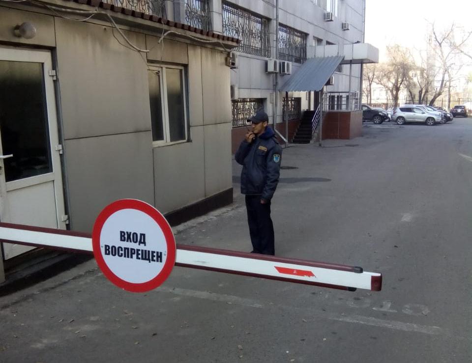 Охрана КПП въезда автотранспорта