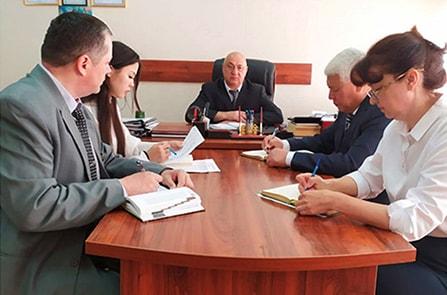Рабочее совещание у Генерального директора