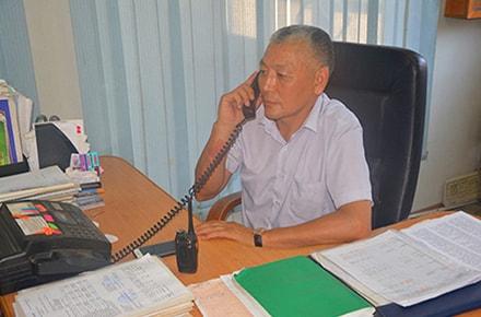 Начальник охраны объекта ТЦ Аксай-4, Шыныбаев Нурлан Боранбаевич