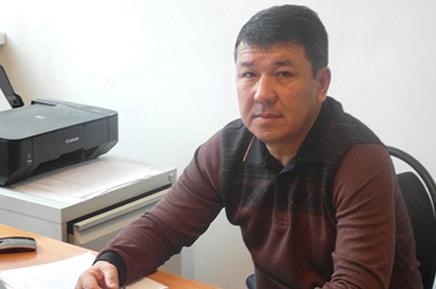 Региональный менеджер Акниязов Малик Капашевич