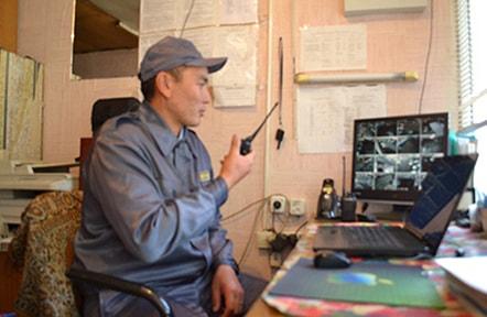 Видеонаблюдение за охраной территории ТЦ Аксай-4
