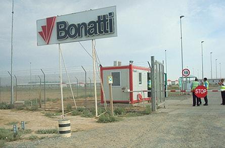Объект компании Bonatti