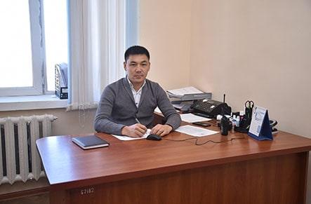 Начальник охраны объекта Казыкурт ЮГ Ауэзов Алтынбай Зикряұлы