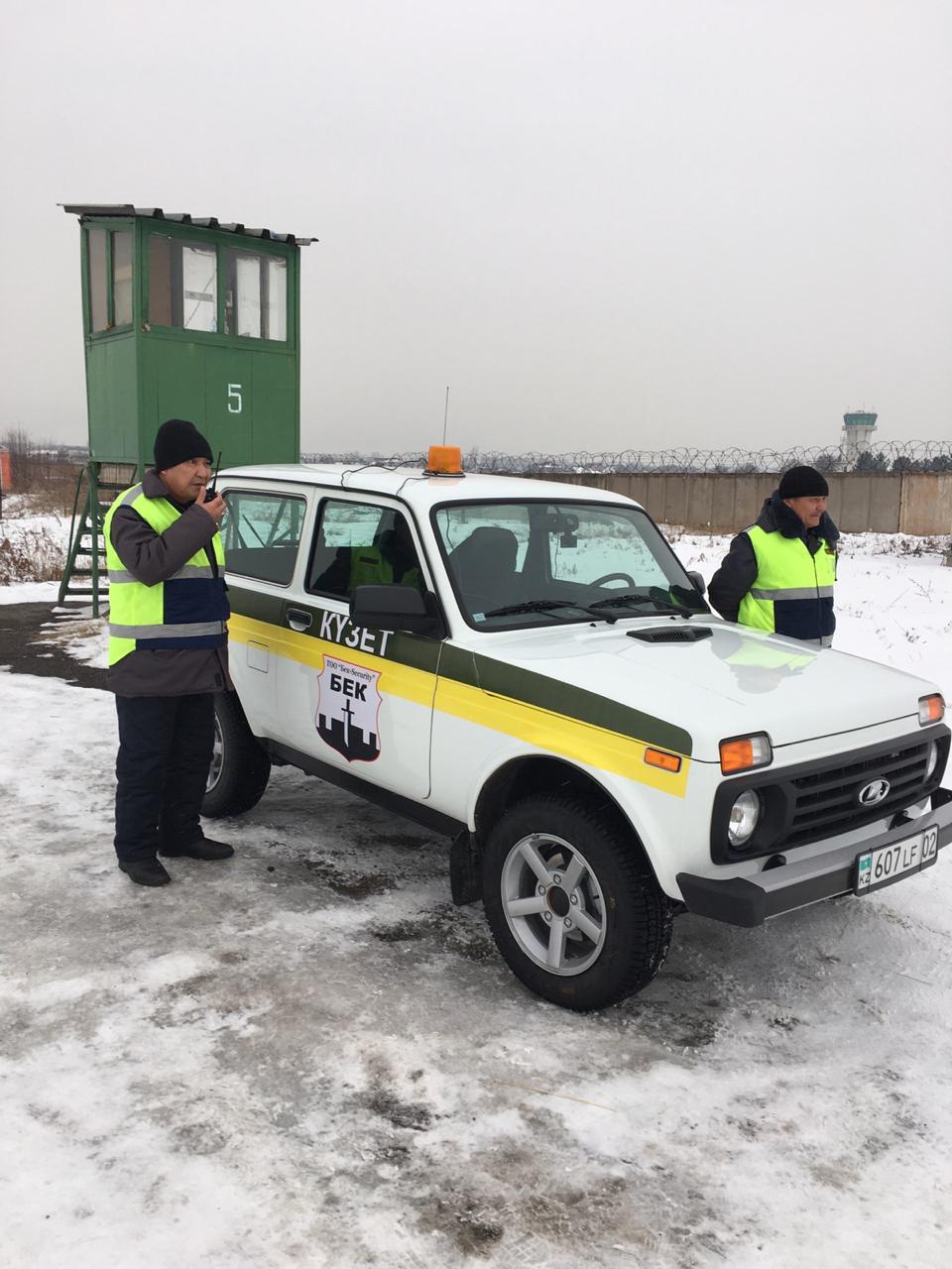 Экипаж ГОР на проверке