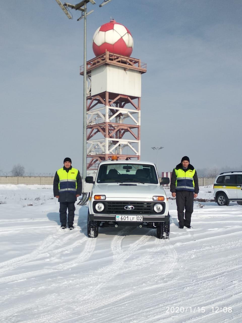 Экипаж ГОР на охране Метеослужбы